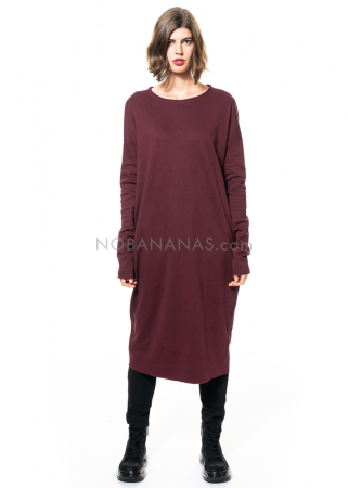 SCHIESS, langes oversized Kleid