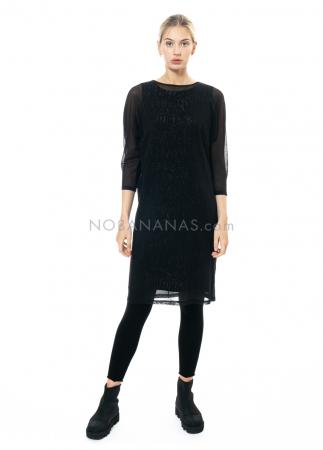 annette görtz, silk dress Selo with extra dress