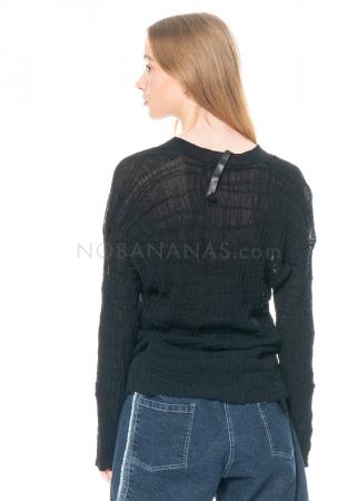 serien° umerica, Pullover mit V-Ausschnitt aus lässigem Baumwollmix
