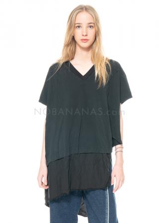 serien° umerica, asymmetrisches Shirt mit V-Ausschnitt