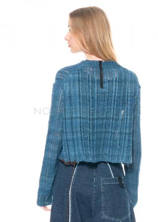 serien° umerica, Pullover aus Seide mit Bänderdetails