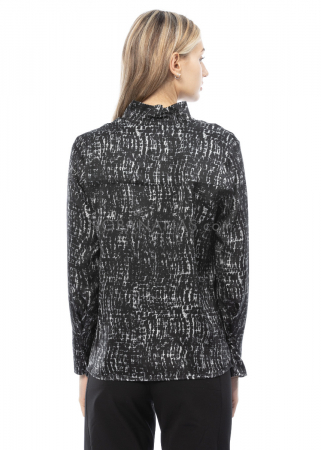 annette görtz, silk blouse Seta with print