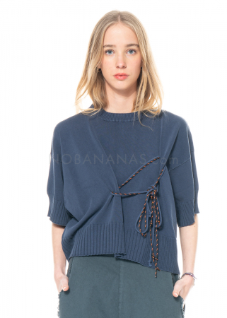serien° umerica, boxy sweater with rope detail