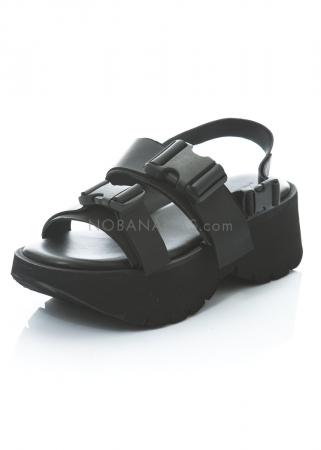 PURO, sandale Stay Taff black