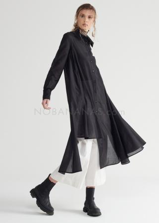 SYMETRIA, long shirt with asymmetrical hemline