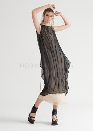 SYMETRIA, silk ravine dress