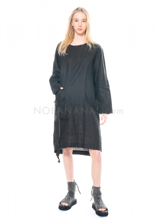 studiob3, oversized Kleid Togga aus Leinen mit großer Tasche