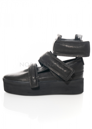 PURO, Sneaker Under Cut schwarz