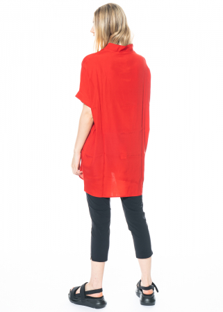 austriandesign, silk dress with V-neck