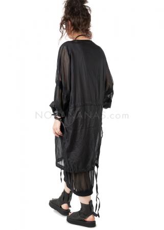 studiob3, transparent oversize dress Vesnya black