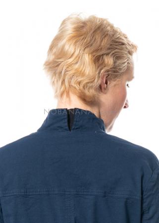 annette görtz, elastische Jacke Vice aus Leinenmischung