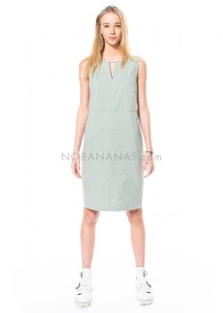 annette görtz, elastisches Kleid Vico aus Leinenmischung