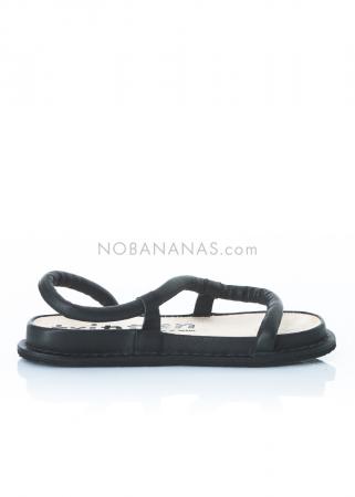 trippen, Sandale Zigzag schwarz