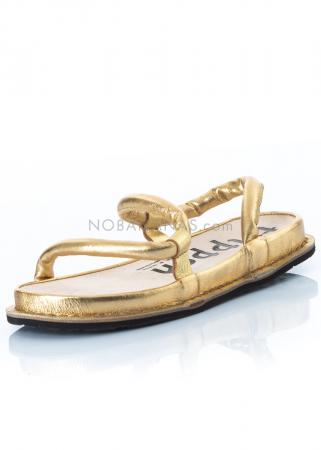trippen, Sandale Zigzag gold