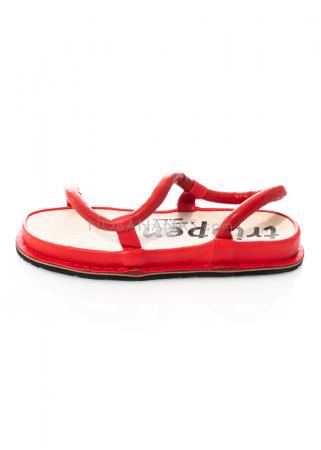 trippen, Sandale Zigzag rot