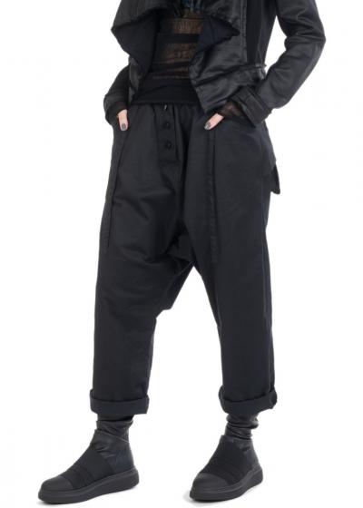 STUDIO B3, pants Hainos black